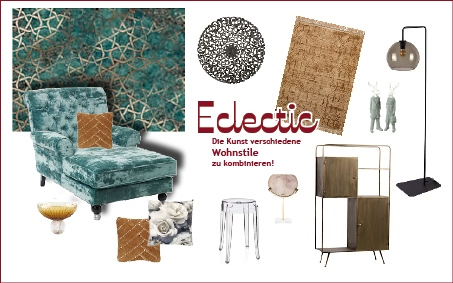 Moodboard-Eclectic-Wohntrend