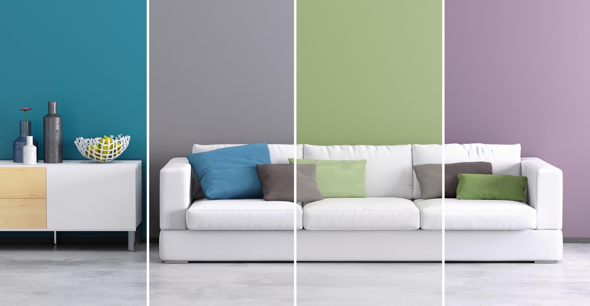 Farben in Räumen bringt Behaglichkeit