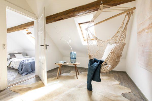Flur einer Ferienwohnung in Weinheim, eingerichtet von CreaDeco