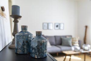 Ferienwohnung Dekoration Wohnzimmer