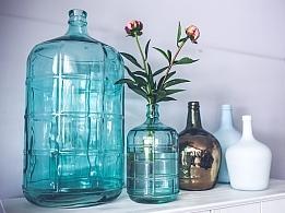 Vasen als Dekoration