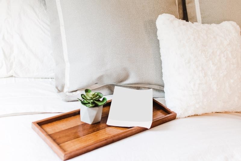 Saubere Betten sind ein muss bei der Vermietung von Ferienunterkünften