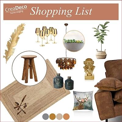Shopping List für ein schönes Zuhause