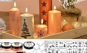 Kerzen design selbst machen