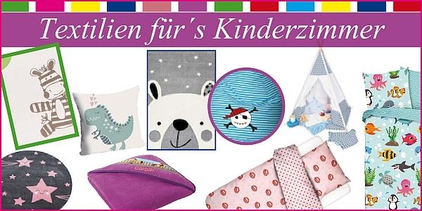 Textilien fürs Kinderzimmer