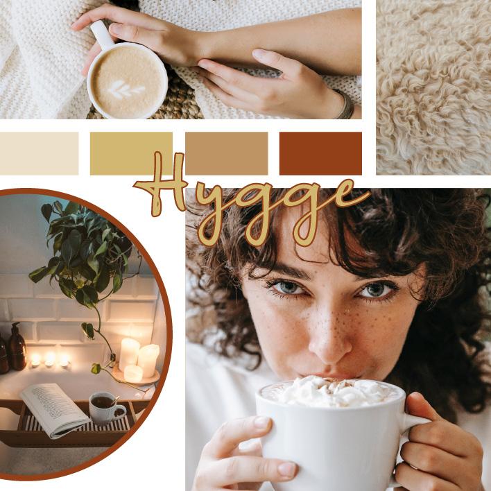Hygge Einrichtung stil und Trend zuhause wohnen
