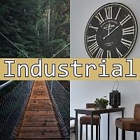 Einrichtung und wohnen im industrie stil