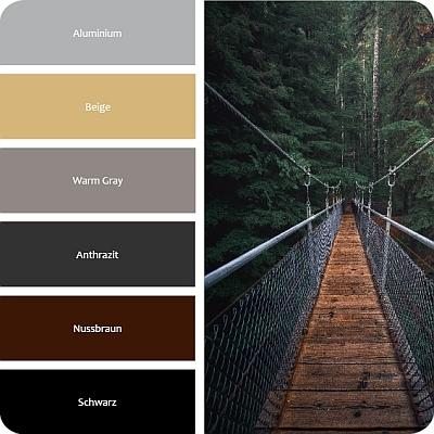 Farben die zum Industrie Wohnstil passen