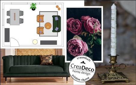 Räume gestalten und einrichten mit Creadeco