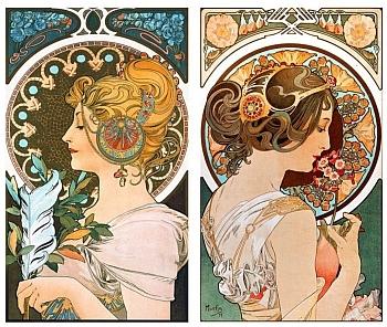 Jugendstil-Art-Deco