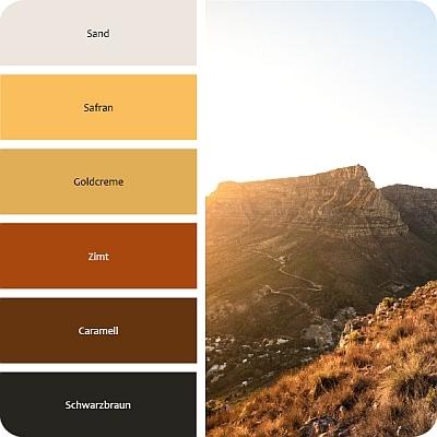 Farben für den Ethno Style