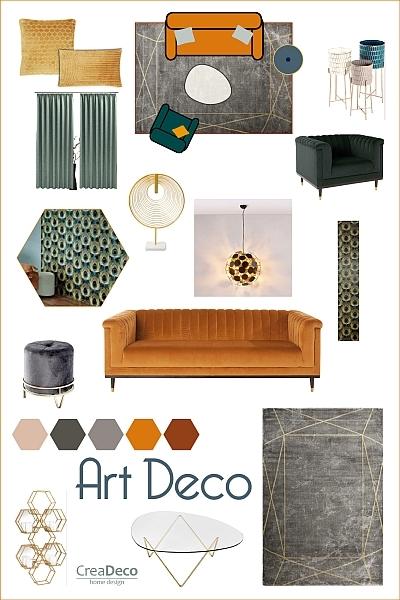 Moodboard Art Deco Inspiration
