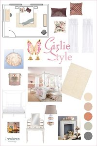 Moodboard Girlie Style Inspiration