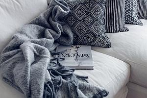 gemütliches zuhause einrichten und entspannen