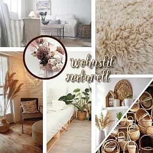 wohnen mit natürlichen materialien