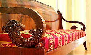 antikes biedermeier sofa