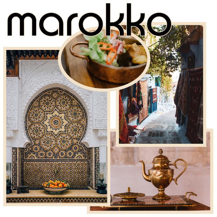 marokkanisch einrichten wohnen