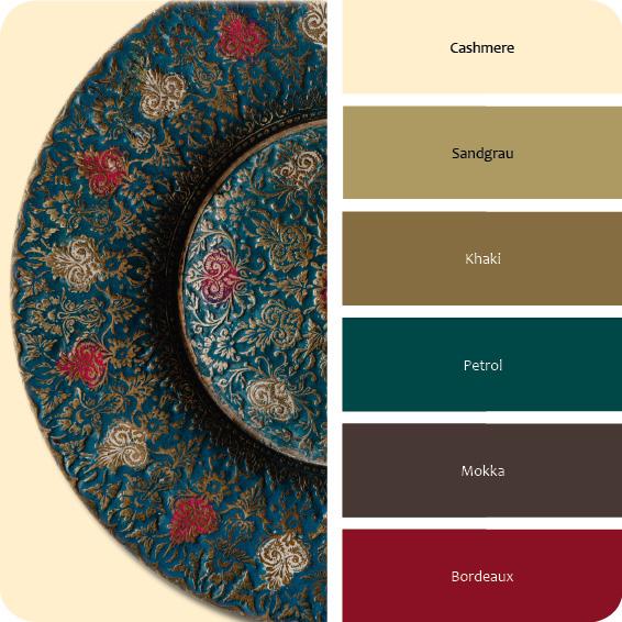 Farben von Marokko