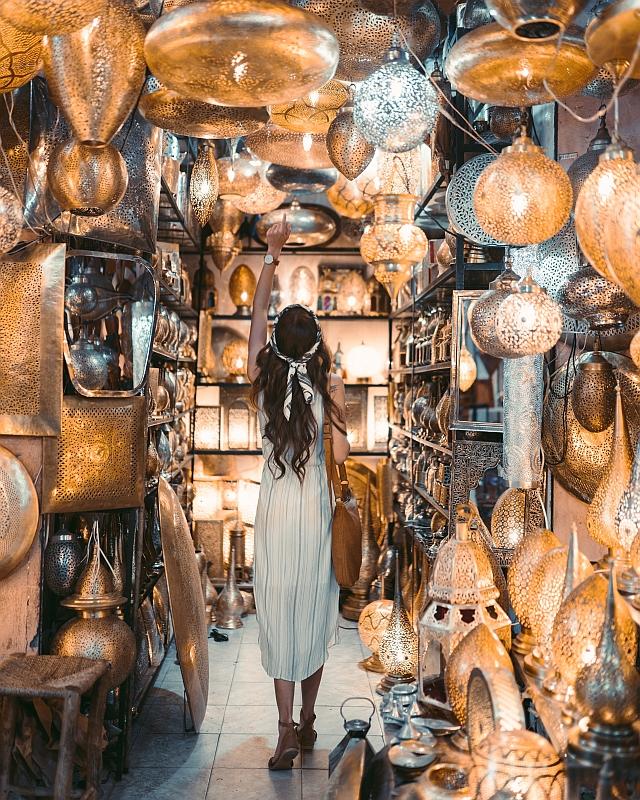 Bazar Orient Leuchten Metall