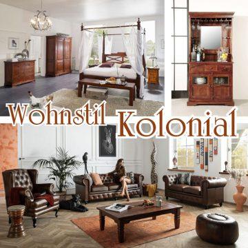 Wohnstil Einrichtungsstil Kolonialstil wohnideen