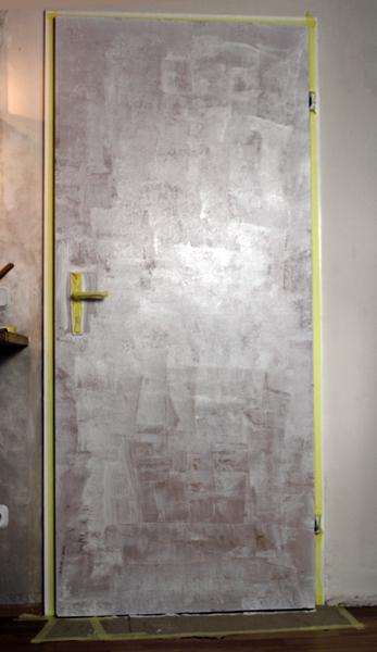 Zimmertür streichen